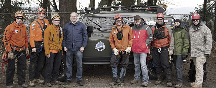 Skedco trains Pacific Northwest Search and Rescue team members.